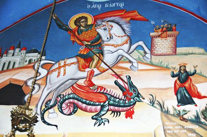 St George Painting