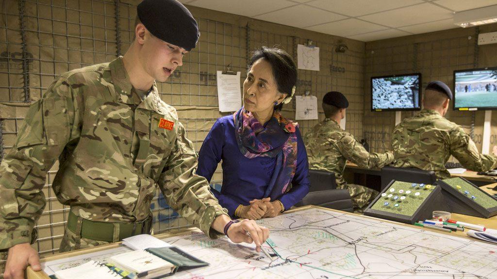 Suu Kyi Military