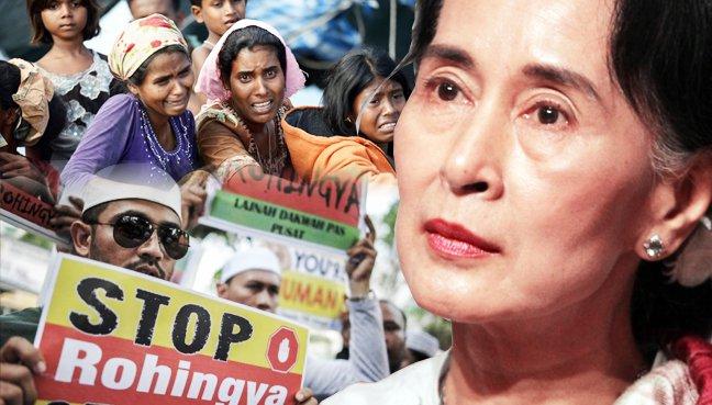 Suu Kyi Rohingya