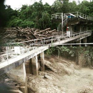 Banjir di Ranau. Gambar: The Rakyat Post