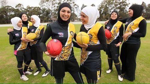 Muslim Women AFL