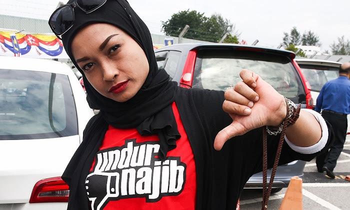 Merah Undur Najib