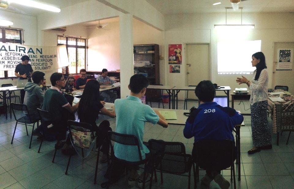Sesi perbincangan meja bulat di Pulau Pinang
